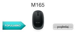 Logitech bežični miš M165