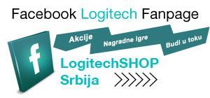 Facebook fan stranica Logitech Shop Srbija - Pridrui nam se na Facebooku ::: Budi i ti deo Logitech zajednice