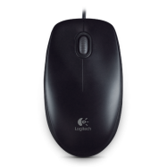 Logitech Optical Mouse B100 black