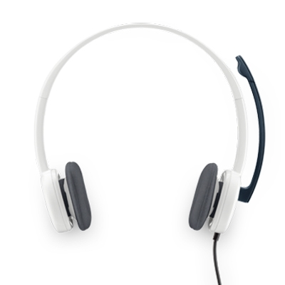 Logitech H150 Headset Cloud White