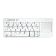 Logitech Wireless Touch Keyboard K400 white