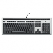 Logitech UltraX Premium Keyboard