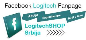 Facebook fan stranica Logitech Shop Srbija - Pridruži nam se na Facebooku ::: Budi i ti deo Logitech zajednice